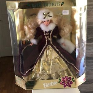 "Barbie Special Edition Happy Holidays ""1996"""